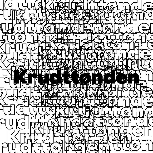 Krudttønden
